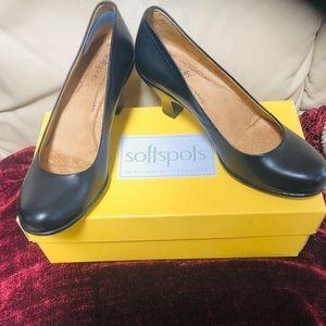 Soft spot heels